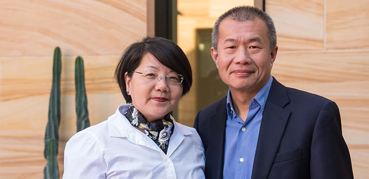 Image of Hao and Michelle Wang