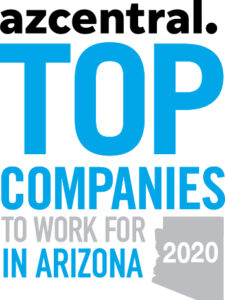azcentral Top Companies to Work for in Arizona 2020 Logo